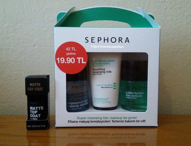 Sephora ve H&M Alışverişi
