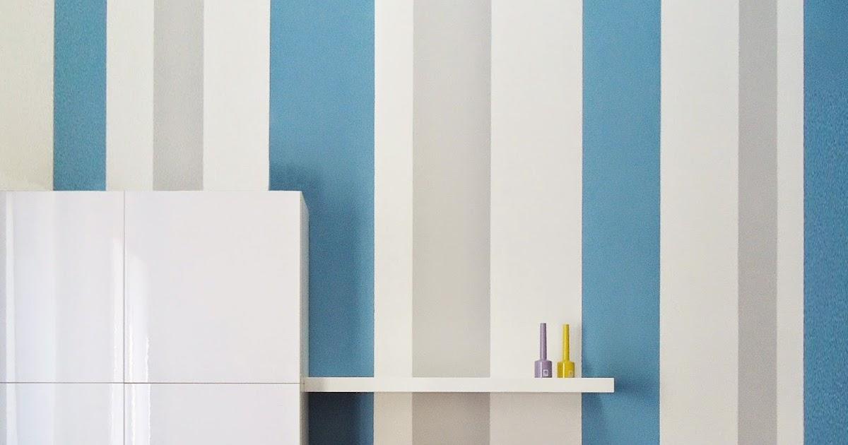 Parete A Righe Azzurre ~ Trova le Migliori idee per Mobili e Interni di Design