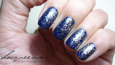Tip Top Nail Chic Gold Drop Glitter