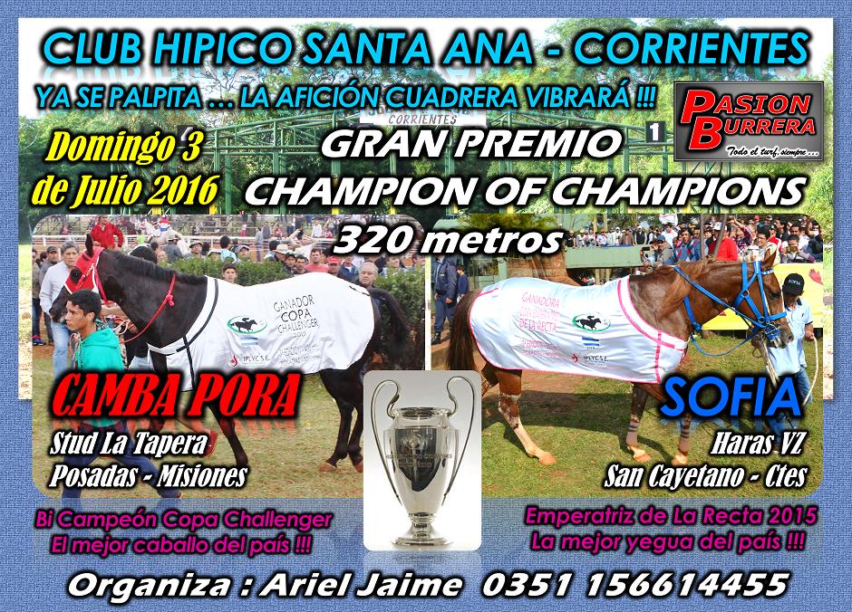 SANTA ANA - 3 JULIO - GRAN PREMIO