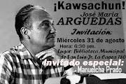 KAWSACHUN: ARGUEDAS - HOMENAJE