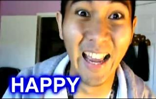 happy image man