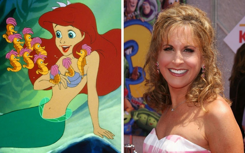 animatedfilmreviews.filminspector.com Jodi Benson Ariel the Little Mermaid