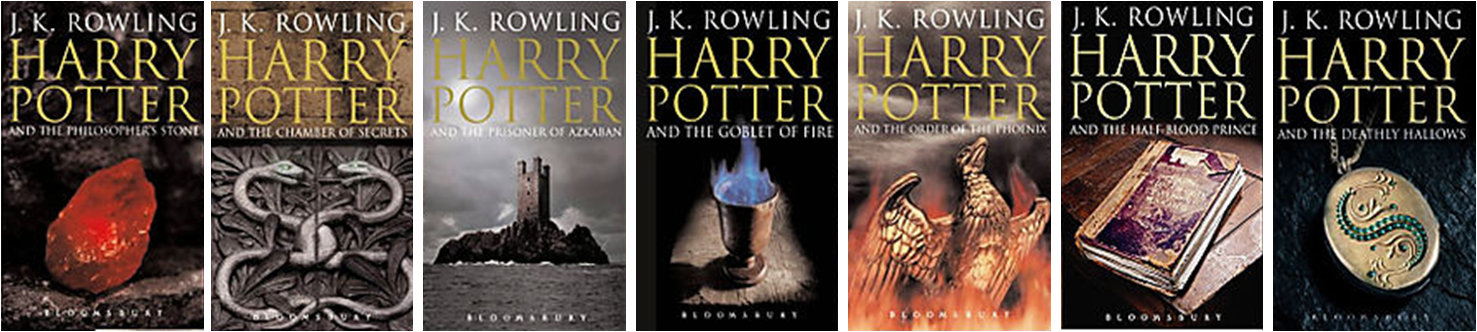 Harry Potter Book Cover Versions : Harry potter covers the world books such literary