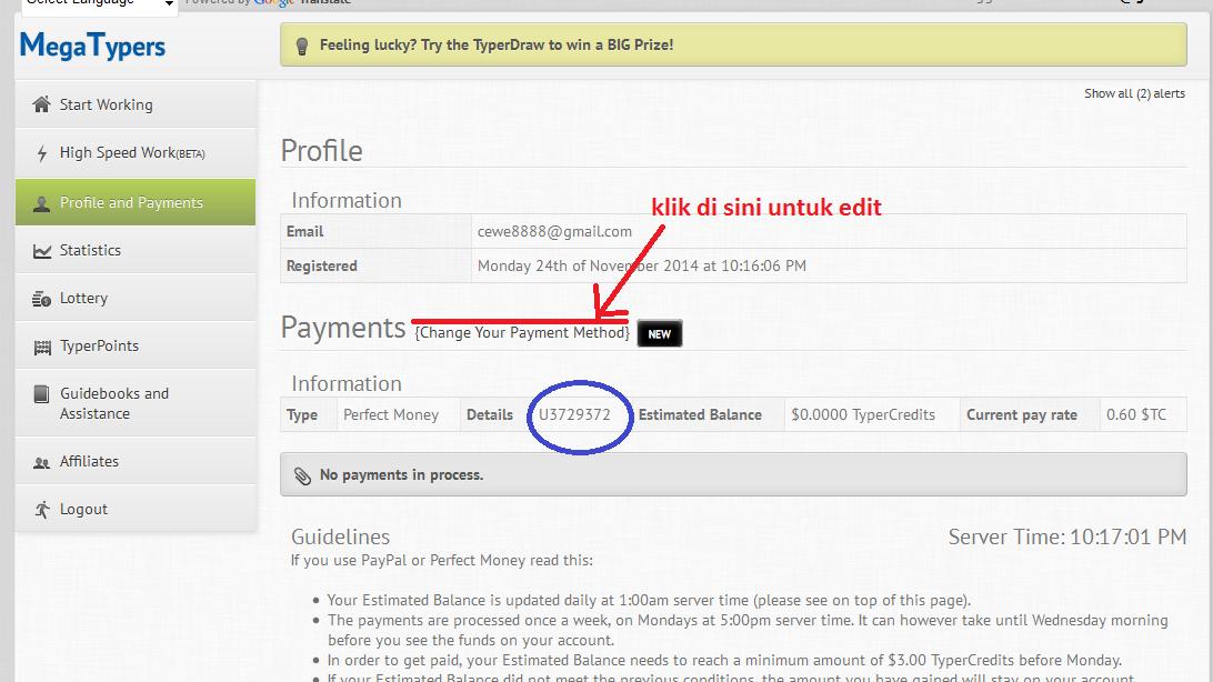 1 payment untuk banyak ID di mega