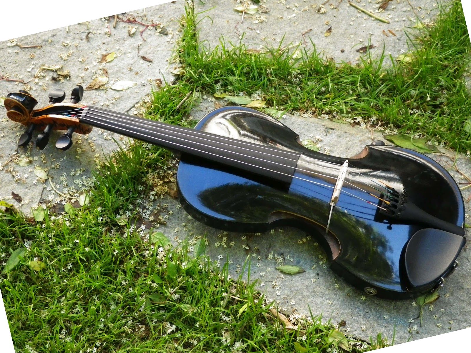 electric violin by C-Violin maker C Kober in Austria