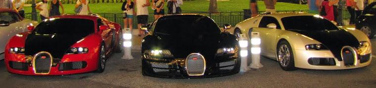 Bugatti Veyron x 3 from Emirate of Abu Dhabi (UAEAD) إمارة أبو ظبي