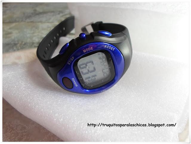 Reloj pulsometro y contador de calorias