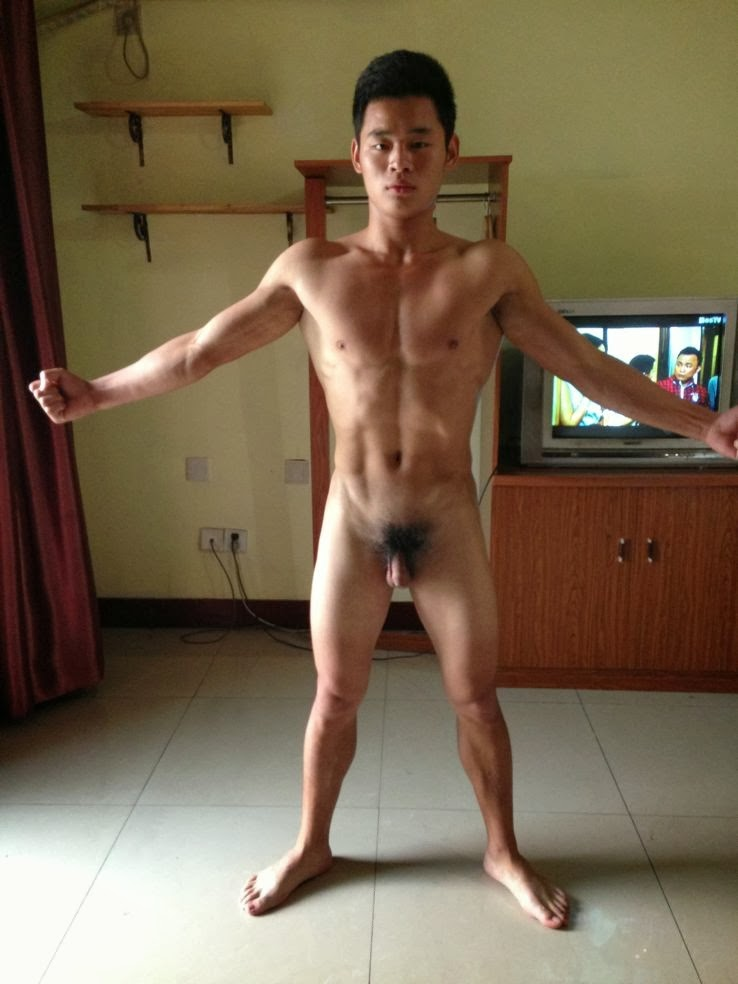 hunk Asian nude Gay