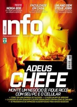 Revista Info Exame Adeus Chefe