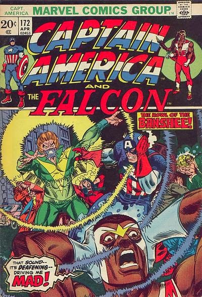 Captain America and the Falcon #172, the Banshee