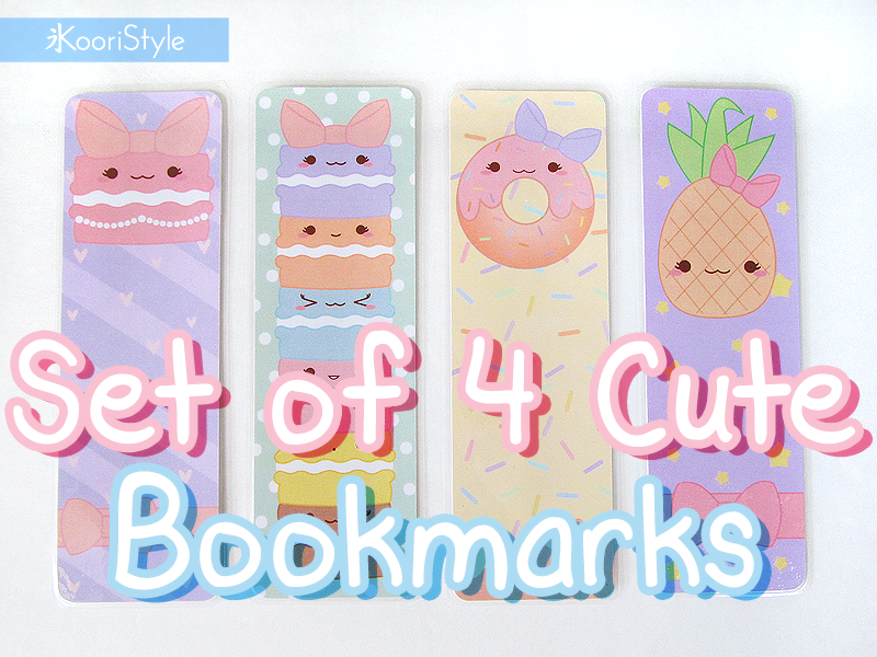 Koori KooriStyle Kawaii Cute Planner Stationery Goods Goodies Agenda Journal Halloween Bookmark Etsy Macaron Macaroons Pineapple Donut