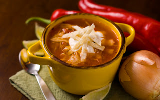 Crockpot Chicken Tortilla Soup Recipe