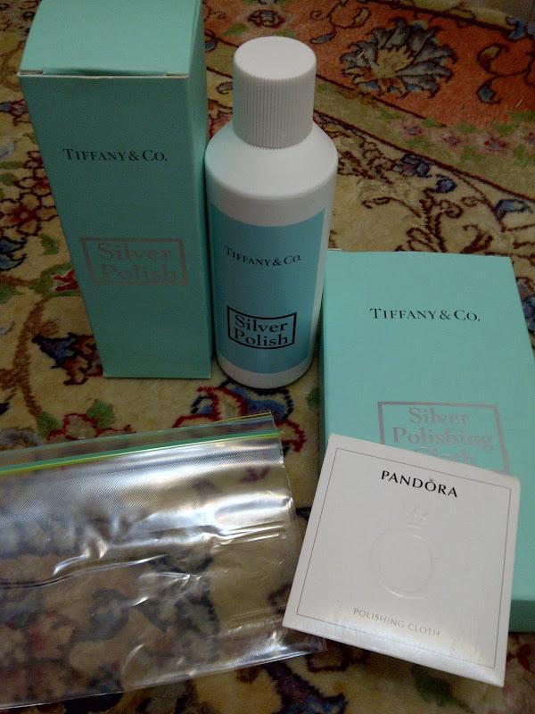 Tiffany silver polish (supercalifragilisticexpilidocious awesomeness  title=