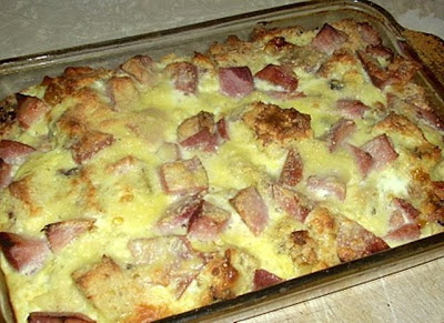 Panettone Breakfast Bake