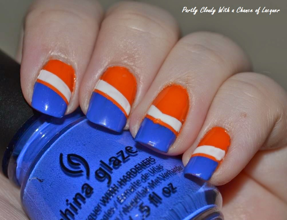 Florida Gator Nails - UF vs. Eastern Kentucky | Partly Cloudy With a ...