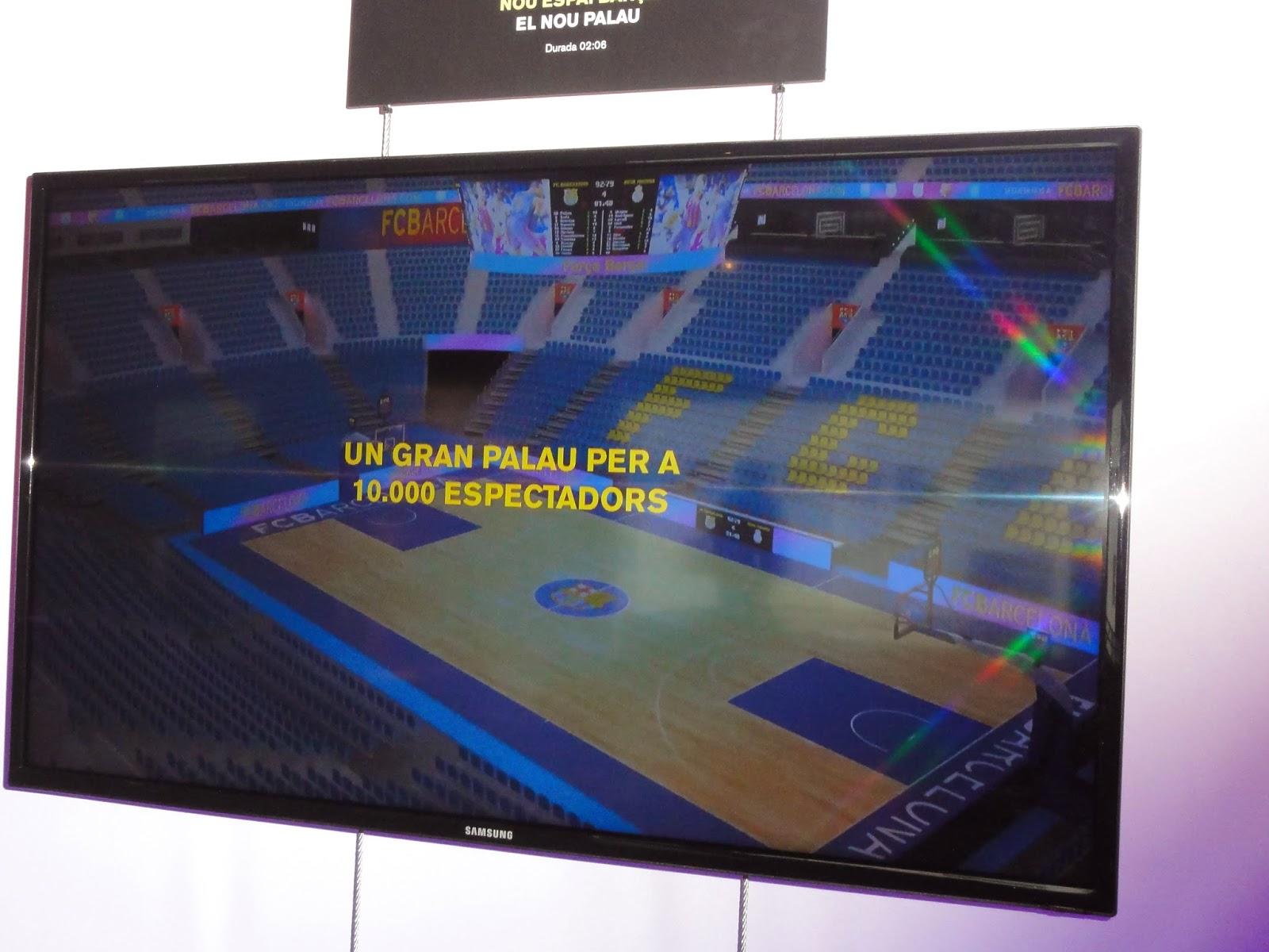 Futsal ol mpico nuevo palau blaugrana proyecto for Puerta 0 palau blaugrana