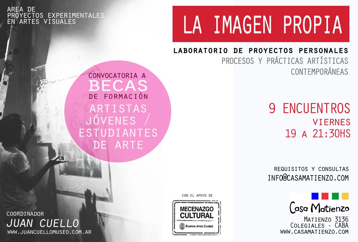 TALLER LA IMAGEN PROPIA por Juan Cuello