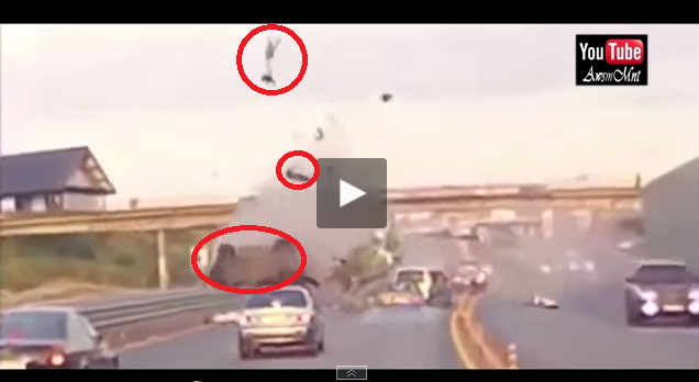 worst car accident ever woman thrown 21 meters in the air