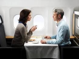 อาหารบนเครื่องบิน Foreign Airlines