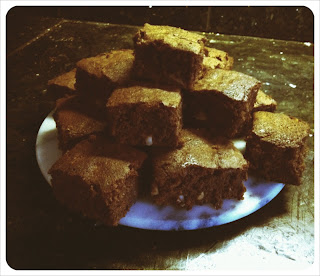 Mix it Cook it: Dark Orange Brownies with Brazil Nuts