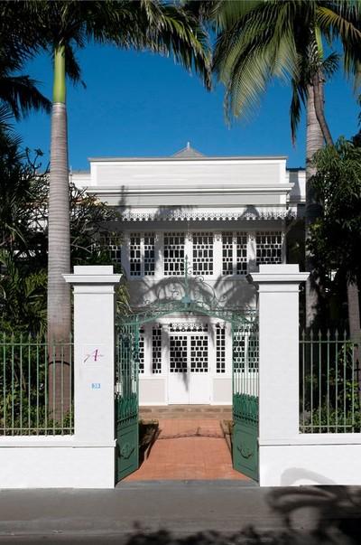 Villa de Boivilliers rue de Paris à St Denis de La Réunion