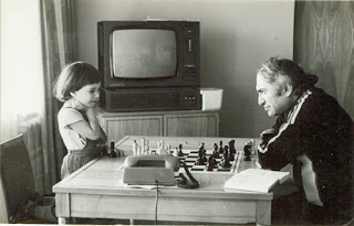 Tal, champion du monde d'échecs 1960 © Chess & Strategy