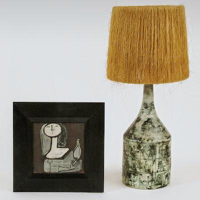 jacques blin lampe ceramique
