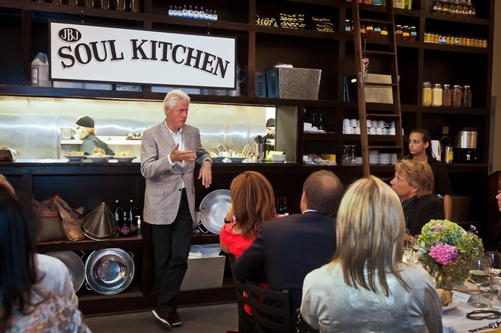 Bill Clinton Jon Bon Jovi Soul Kitchen