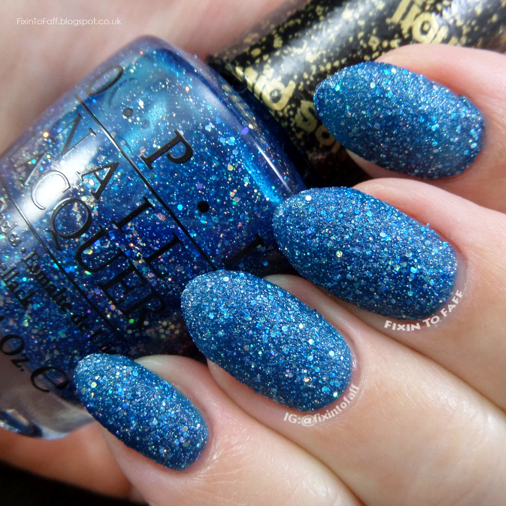 Swatch and review of OPI Get Your Number.