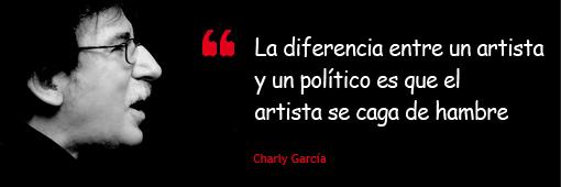 Homenaje a un grande de la música Charly Garcia