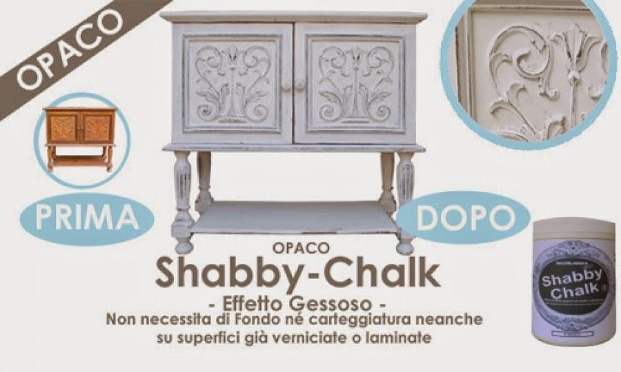 Restaurare mobili e oggetti con Shabby Chalk vernici Decorlandia