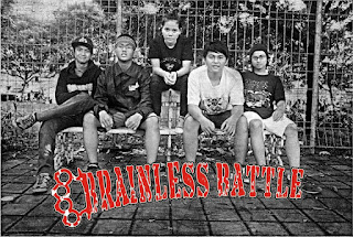 Brainless Battle band Hardcore Dari Tasikmalaya Dengan Female Vocal Foto Image Wallpaper Cover Album Artwork