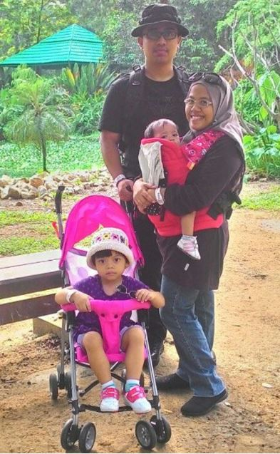 2015 at Zoo Negara #familypotrait #weekendgetaway