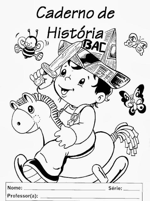 caderno de história