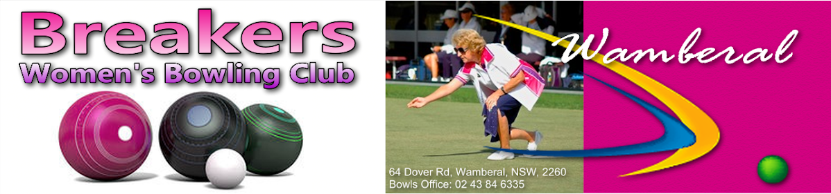 Breakers Womens Bowling Club Wamberal