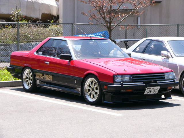 Nissan Skyline, R30, japoński sportowy samochód, lata 80, RWD 日本車 日産 スカイライン