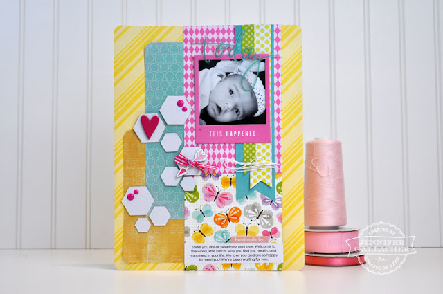 3 Ways to Alter Embellishments by Jen Gallacher for Scrapbook Expo: http://scrapbookexpo.com/blog/layout-tutorial-dressing-up-embellishments/