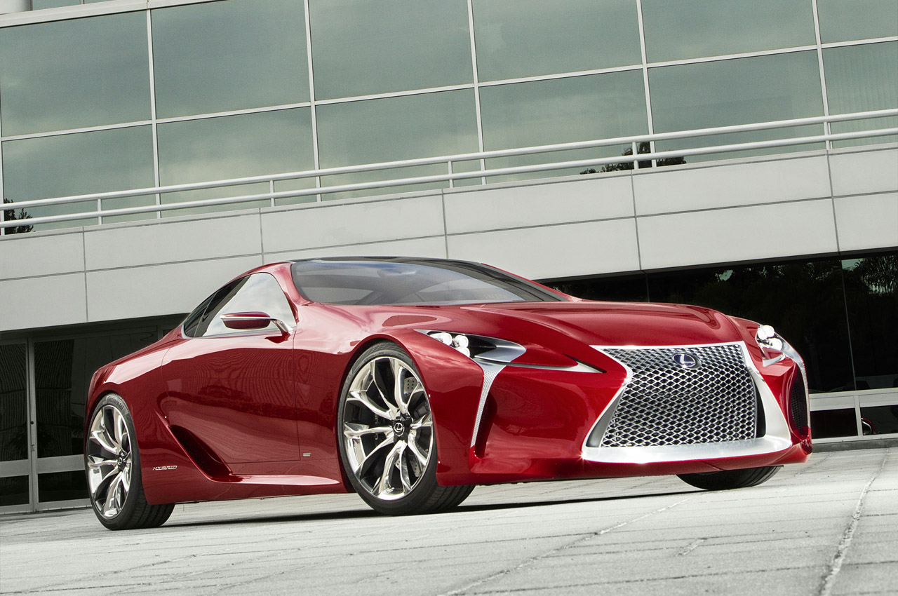 lexus lf lc hybrid sport coupe concept debuts detroit video electric vehicle news. Black Bedroom Furniture Sets. Home Design Ideas