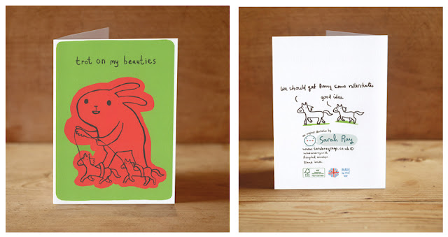 http://sarahrayshop.myshopify.com/collections/cards/products/trot-on-card