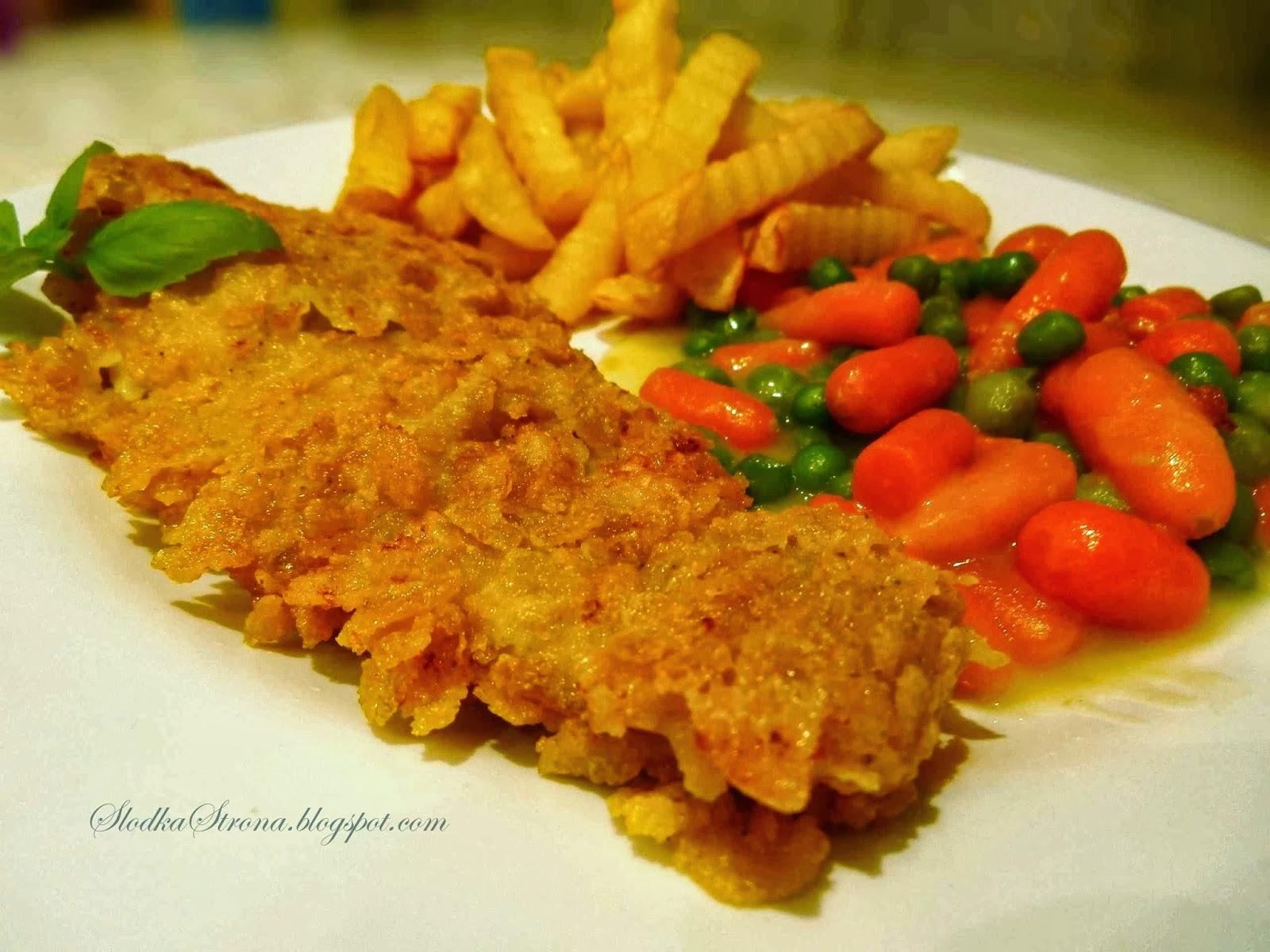 Ryba w Płatkach Kukurydzianych - Przepis - Słodka Strona