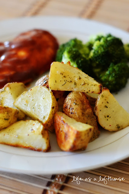 Ranch Roasted Potatoes - Life In The Lofthouse
