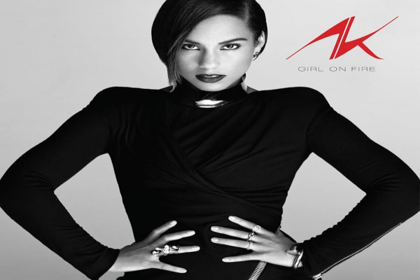 Alicia Keys - Girl On Fire lyrics