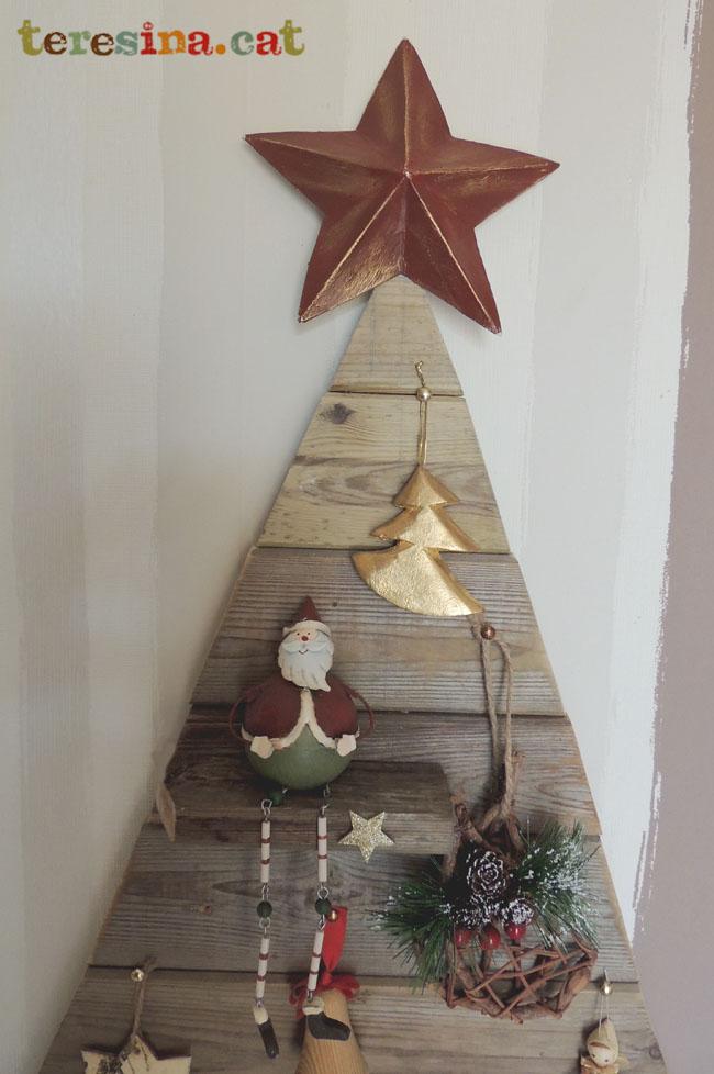 Arbol-navidad-madera reciclada