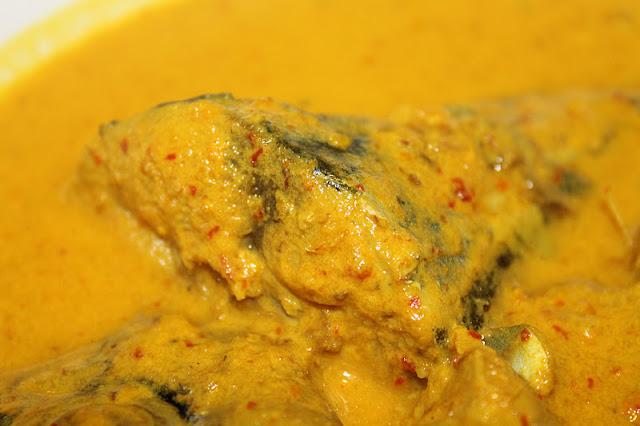 Ikan Tongkol Gulai Stail Kelantan