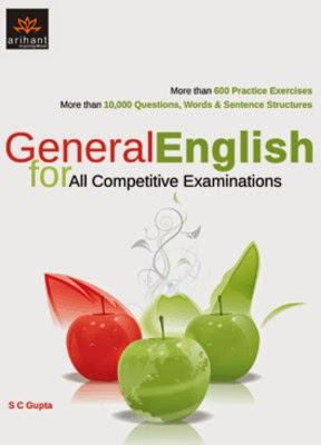 English Subject Book for SBI PO 2014