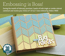 Embossing is Boss  February 1-28, 2014