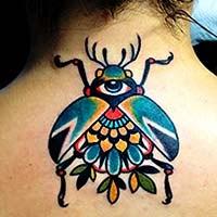 Fotos tatuagem de besouro - animais