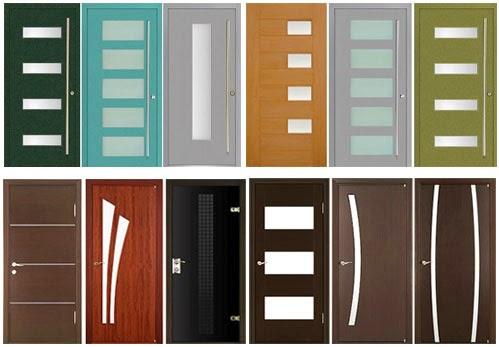 contoh desain pintu kamar mandi rumah minimalis modern