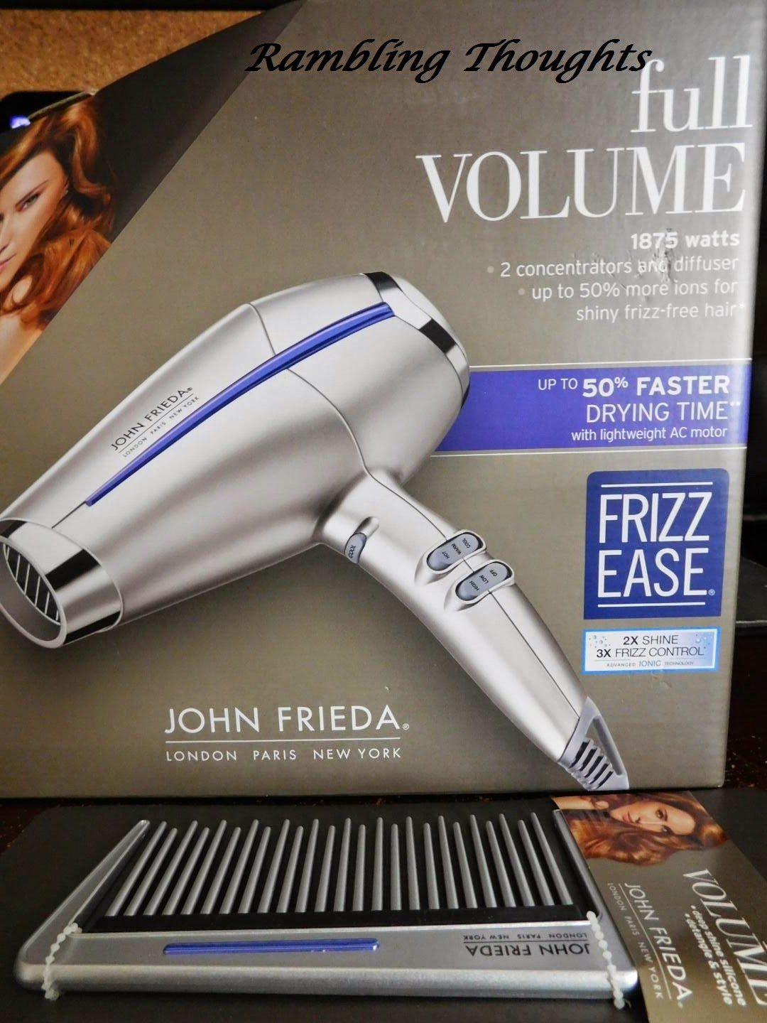 Rambling Thoughts, Free, Coupons, Samples, Products, Magazines, John Frieda, Influenster, Mail